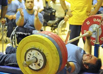 وزنه برداری معلولان