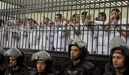 مصر میں 75 افراد کو سزائے موت سنادی گئی