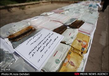 افزایش ۴۶ درصدی کشفیات مواد مخدر در گلپایگان