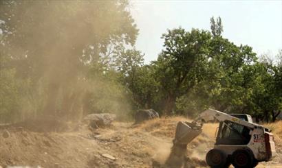تخریب  ۳۸ مورد کاربری غیرمجاز در زنجان