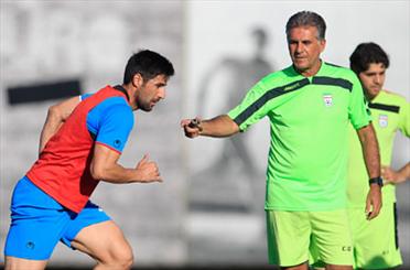 آخرین تمرین تیم ملی در سائوپائولو برگزار شد/ حضور رئیس و تذکرات کیروش