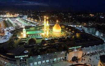 عتبات عالیات عراق حرم امام حسین بین الحرمین