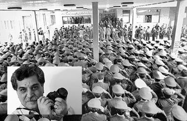 نسخه اصلی عکس بیعت همافران با امام خمینی (ره) رونمایی میشود
