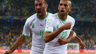 """""""اسلیمانی"""" بهترین بازیکن الجزایر - روسیه شد"""