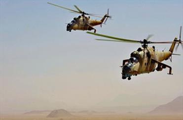 عقب نشینی داعش از 5 نقطه دیالی/عملیات موفق بالگردهای عراقی علیه مواضع تروریستها