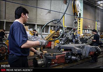 خط تولید شرکت تراکتور سازی تبریز
