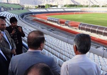وعده افتتاح ورزشگاه 15 هزار نفری کرمانشاه تمدید شد/ نوستالژی سازه های قدیمی در قامت یک استادیوم فوتبال