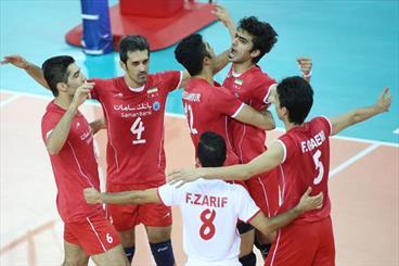Iran stuns Brazil, advances to FIVB semi-final