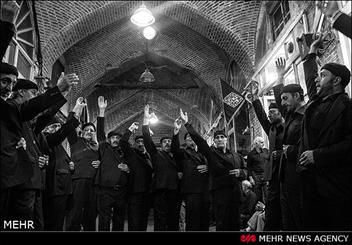 آئین عزاداری شهادت حضرت علی ابن ابیطالب (ع) در بازار تبریز