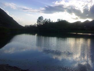 بحيرة أوان في محافظة قزوين