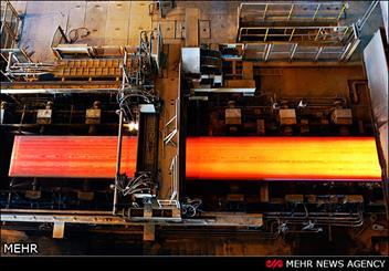 توليد محصولات ويژه در فولاد هرمزگان