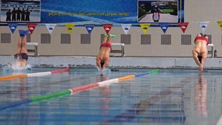 برگزاری اردو آماده سازی تیم شنا جوانان ایران