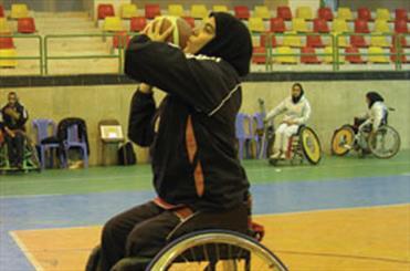 تیم بسکتبال با ویلچر بانوان به رقابتهای برون مرزی اعزام میشود