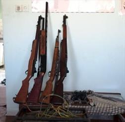 دستگیری ۳ نفر شکارچی غیر مجاز قبل از اقدام به شکار
