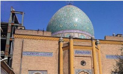 آسیب مترو به گنبد مسجد فخرالدوله/ مسجد فخرالدوله هر دو دقیقه یکبار می لرزد