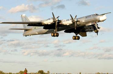 تمرین بمب افکن های روسی برای بمباران هسته ای آمریکا