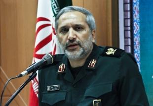سردار محمدرضا یزدی معاون حقوقی و پارلمانی سپاه پاسداران