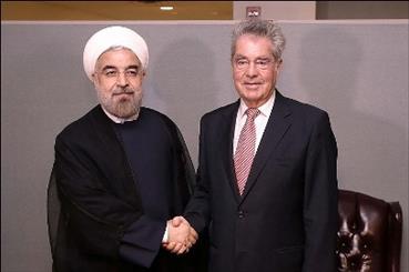تاکید روسای جمهور ایران و اتریش بر تعمیق مناسبات دوجانبه