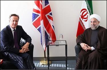 تاکید کامرون بر افزایش همکاری میان دوکشور/روحانی: تحریم ها به ضرر طرفین بود