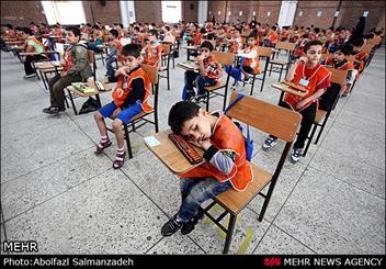 جشنواره دانش آموزان نخبه ایران برگزار شد