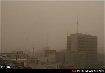 گرد و غبار در تهران