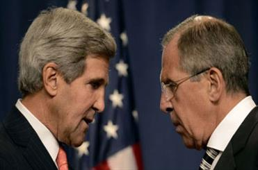 امریکہ اور روس کے وزراء خارجہ کی شام میں جنگ بندی کے بارے میں گفتگو