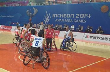 Iran wins Kuwait in Incheon Asian Para basketball