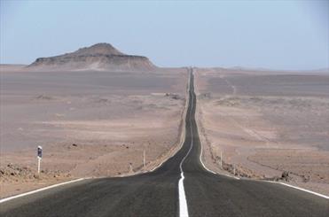 جاده های سیستان و بلوچستان