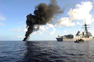 Warships dispatched to fight piracy in Gulf of Aden