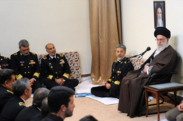 Leader hails Iran's Navy for being resistant, resilient