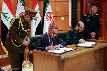 Iran, Iraq sign defense cooperation MoU