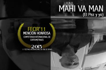Fish and I awarded at Rengo Intl. Filmfest in Chile