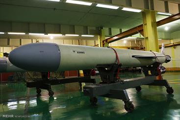 Iran unveils domestic cruise missile 'Soumar'