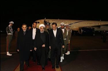 Rouhani back in Tehran, explains top issues of visit