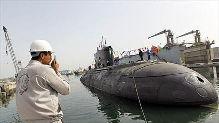 Iran's new Fateh-class submarine test-launched