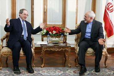 Zarif meets Syrian deputy-FM in Tehran