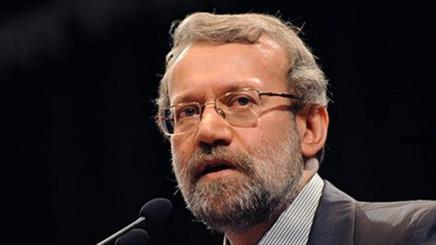 Larijani en route US for parl. speakers conf.