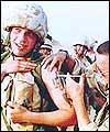 ثلث الجنود الاميركيين العائدين من العراق يعانون من مشاكل نفسيه