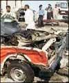 انفجار قرب السفاره الايرانيه في بغداد