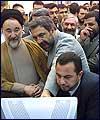 صدر سيد محمد خاتمي نے آئي آر آئي بي كا دورہ كيا (1) : تصويري رپورٹ