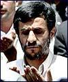 ايران كے نئے منتخب صدر ڈاكٹر احمدي نژاد نے نماز جمعہ مين شركت كي (2) : تصويري رپورٹ