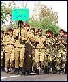 مراسم رژه نيروهاي مسلح در اهواز سالگرد جنگ تحميلي