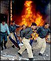 ستة قتلى في انفجار استهدف حافلة للشرطة الباكستانية