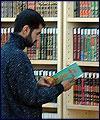 توسعه کتابخانه های ما برعکس استانداردهای جهانی است / بزرگترین کتابخانه اردبیل در آستانه تعطیلی است