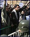 """گزارش كامل """"مهر"""" از دومين تجمع دانشجويان در مقابل سفارت فرانسه"""