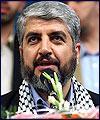 """خالد مشعل: خطه """" اولمرت """" اعلان حرب علي الشعب الفلسطيني"""