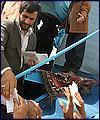 تقرير مصور عن زياره رئيس الجمهوريه لمحافظه كهكيلويه وبوير احمد (13)