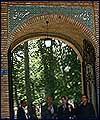 تقرير مصور عن افتتاح حديقة متحف الفن الايراني (1)