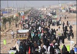 الملايين من الزوار مازالوا يتدفقون على كربلاء الحسين