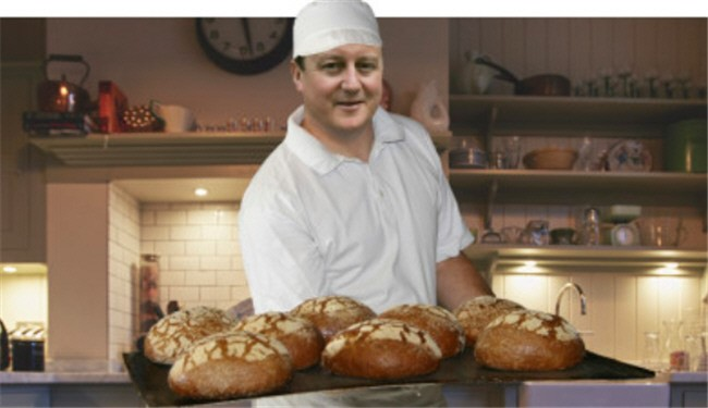 Why David Cameron would not know the price of a loaf of bread?